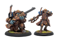 Trencher Express Team  Cygnar Unit (resin/metal)